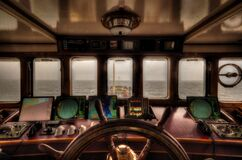 View from the wheelhouse Royalty Free Stock Photos