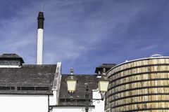 View of a whisky distillery Stock Images