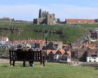 View of Whitby Royalty Free Stock Photos