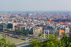 View of the White bridge in Budapest Stock Photography