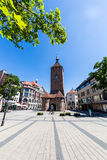 View of the White Tower (Weisser Turm) in the old town part of N Royalty Free Stock Photos
