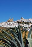 White town, Olvera, Andalusia, Spain. Royalty Free Stock Photo