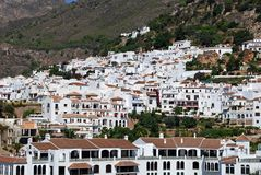 White village, Frigiliana, Spain. Stock Photography