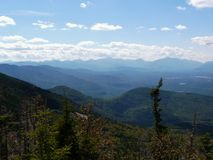 View from Whiteface Mountain, Adirondack Mountains Royalty Free Stock Photo