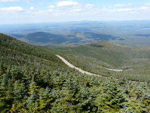 View from Whiteface Mountain, Adirondack Mountains Royalty Free Stock Images