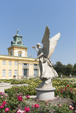 View of Wilanow Royal Palace on AUGUST 8 2013 Stock Image