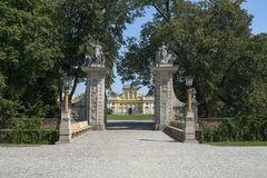 View of Wilanow Royal Palace on AUGUST 8 2013 Royalty Free Stock Image