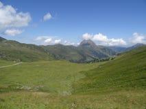 View from Wildkogel,Hohen tauren, Austria Royalty Free Stock Photography