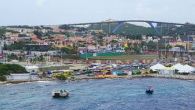 View of Willemstad, Curacao Royalty Free Stock Images
