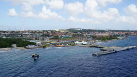 View of Willemstad, Curacao Royalty Free Stock Photos