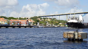 View of Willemstad, Curacao. In the Caribbean Royalty Free Stock Image