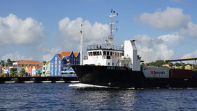 View of Willemstad, Curacao. In the Caribbean Stock Images