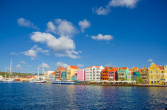 View of Willemstad. Curacao, Netherlands Antilles. View of downtown Willemstad. Curacao, Netherlands Antilles royalty free stock photos