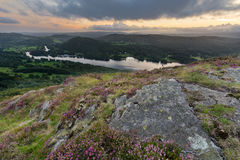 View Of Windermere From Gummers How, Lake District. Royalty Free Stock Image