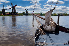 View on windmills Stock Images