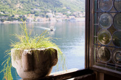 View through the window royalty free stock image