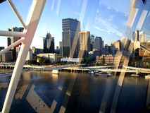 View through the window ..Brisbane Royalty Free Stock Photography