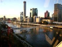 View through the window ..Brisbane Stock Photo