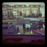 View from the window. Royalty Free Stock Photo