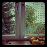 View from the window. Royalty Free Stock Images