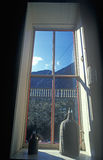 View from window of Hotel De Paris,  first modern hotel in Georgetown, CO Stock Image