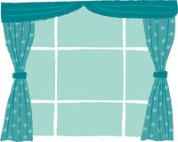 The view of window Royalty Free Stock Images