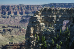 View Of Window Rock From The North Rim Of The Grand Canyon Stock Photo