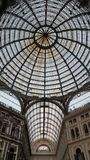 Naples Galleria Umberto I royalty free stock images
