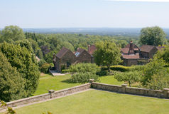 View of Winston Churchill's studio from his home at Chartwell Ho Royalty Free Stock Images