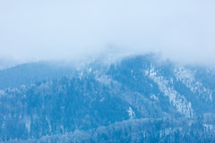 View on winter mountains Tatry Stock Image