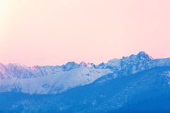 View on winter mountains Tatry Stock Photography