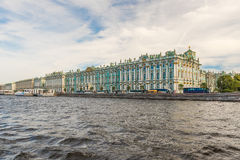 View of the Winter Palace, Hermitage Museum, St. Petersburg, Rus Royalty Free Stock Photo