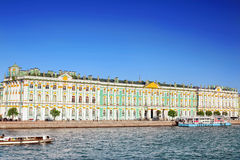 View Winter Palace  in  Saint Petersburg Stock Photo