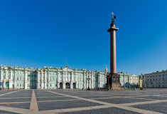 View Winter Palace in Saint Petersburg Royalty Free Stock Photography