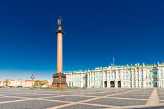 View Winter Palace in Saint Petersburg. Stock Images