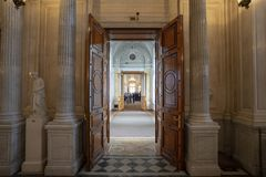 The view of Winter Palace royalty free stock images