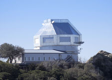 A View of the WIYN 3.5m Telescope Royalty Free Stock Photo