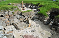 View of the Workshop, in a Prehistoric Village. Stock Images