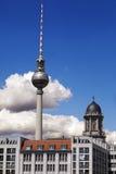 Berlin Televishion Tower - Fernehsturm Stock Photo