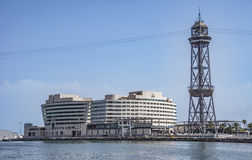 View of World Trade Center Barcelona Royalty Free Stock Photo