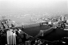 View from World Trade Center - NYC Stock Photos