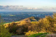 View from the Wrekin, Shropshire, England, UK royalty free stock photos