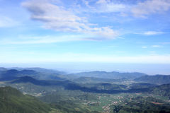 View from Wugongshan mt - 1 Stock Image