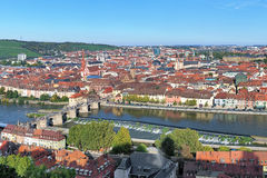 View of Wurzburg, Germany Royalty Free Stock Photo