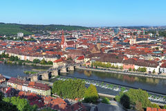 View of Wurzburg, Germany Royalty Free Stock Images