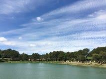 View of Xuan Huong lake, Dalat, Vietnam Royalty Free Stock Photos