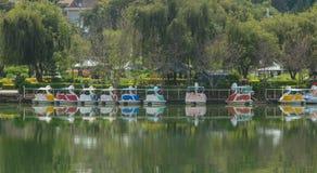 View of Xuan Huong Lake, Dalat Stock Images