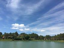 View of Xuan Huong lake, Dalat, Vietnam Royalty Free Stock Images