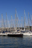 View on yachts royalty free stock photo