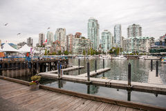 View on Yaletown from Granville island Stock Photography